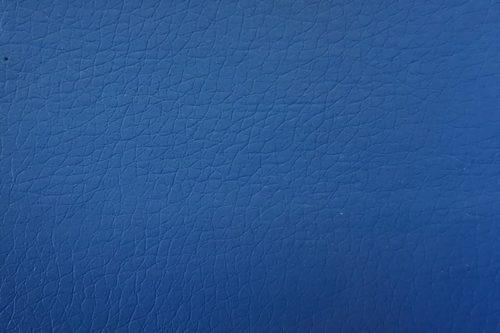 Экокожа синяя